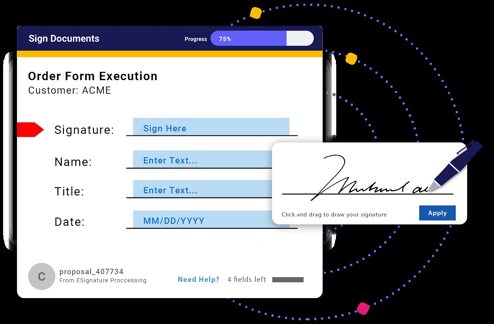 ClientPoint E-Sign