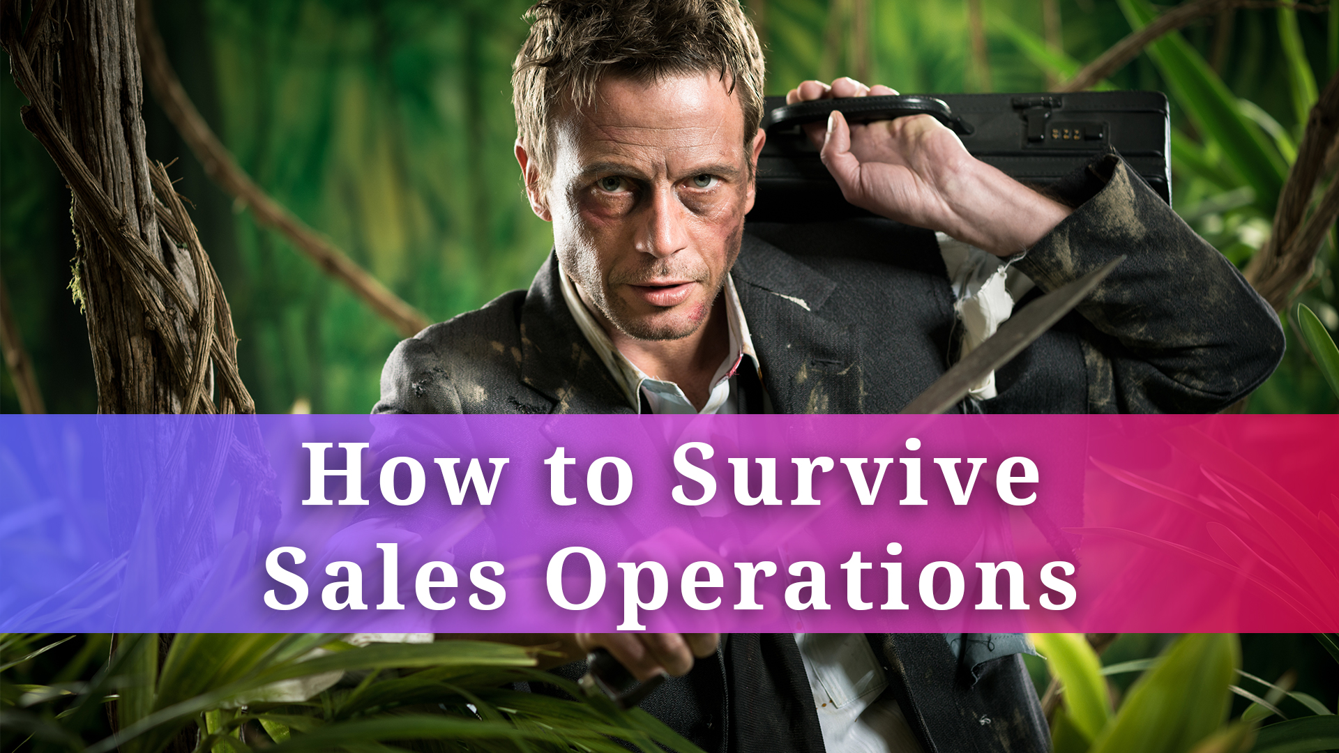 How To Survive Sales Operations