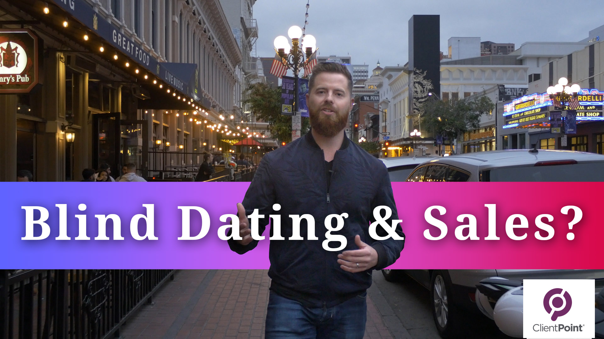 Blind Dating & Sales?!