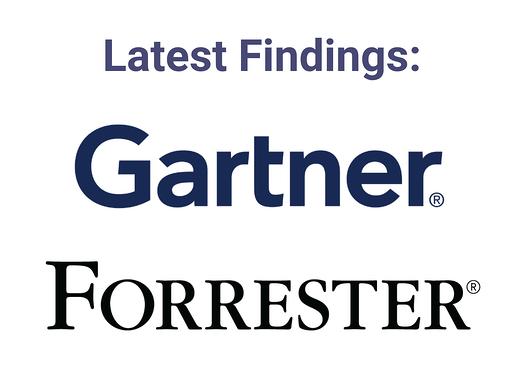 Gartner and Forrester