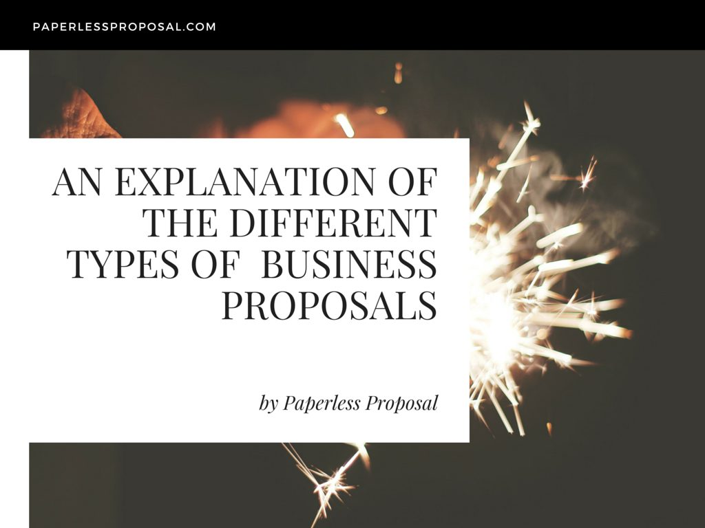 The-Different-Types-of-Business-Proposals