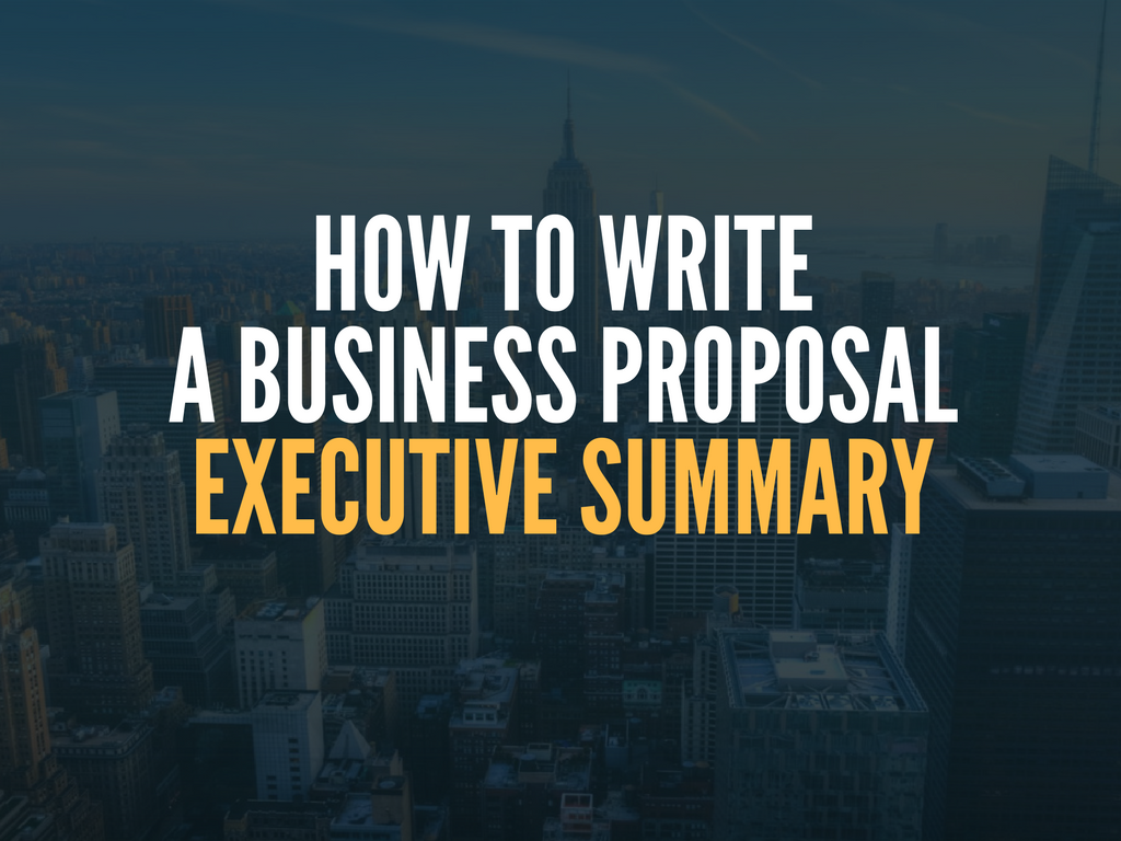 how-to-write-a-business-proposal-executive-summary